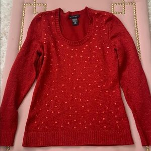 Holiday Sequined NY&C Sweater